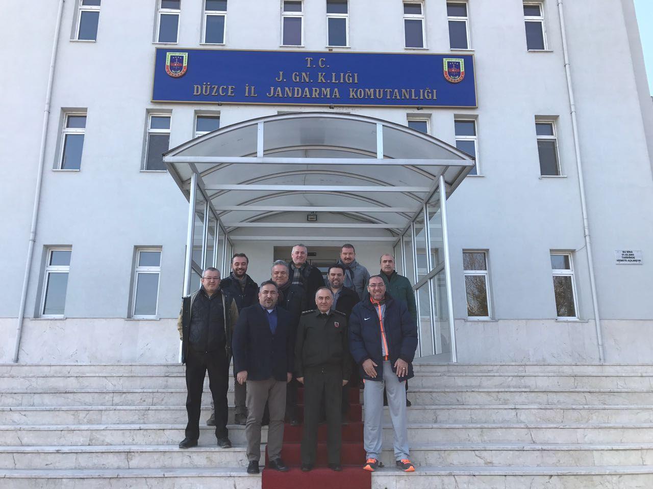 Kulübümüz Albay Yılmaz Özdemir'i Makamında Ziyaret Etti