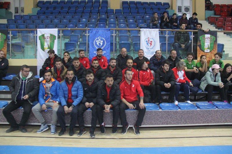 Takımımızdan Belediyespor Basketbol Takımına Destek