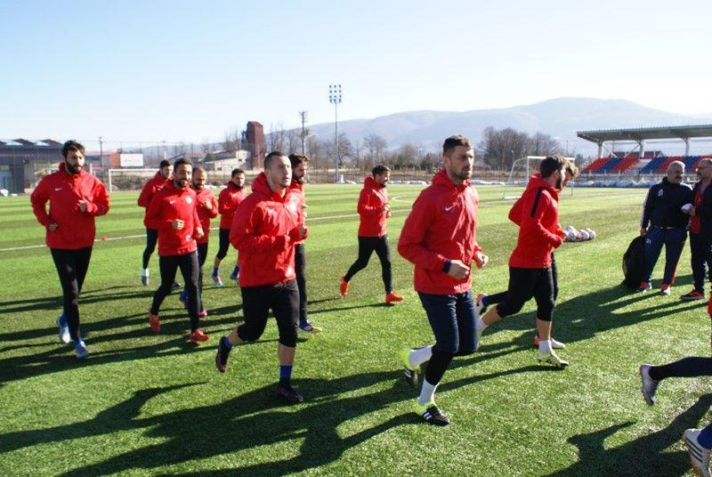 Kırıkhanspor Maçı Hazırlıklarına Devam Edildi.