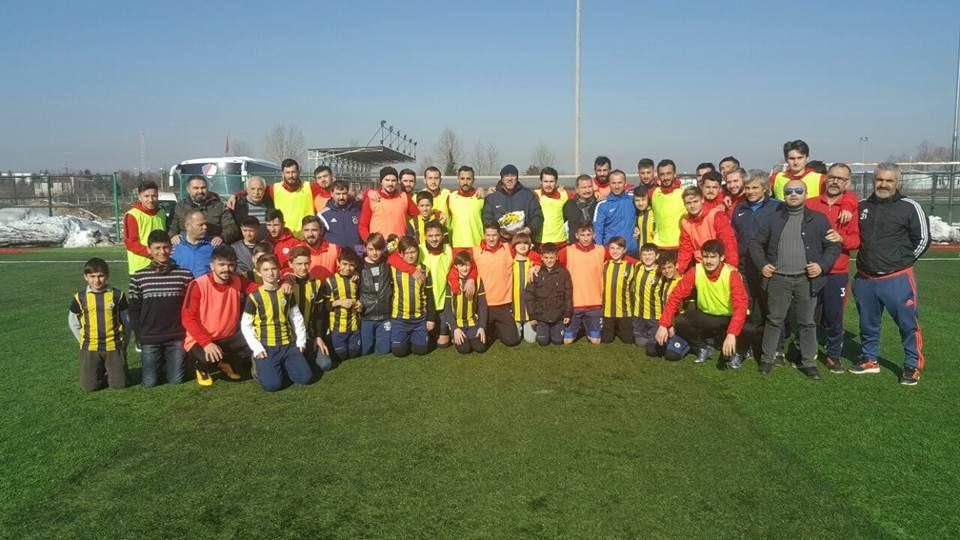 Fenerbahçe Düzce Şubesi Futbol Okulu Takımımızı Ziyaret Etti
