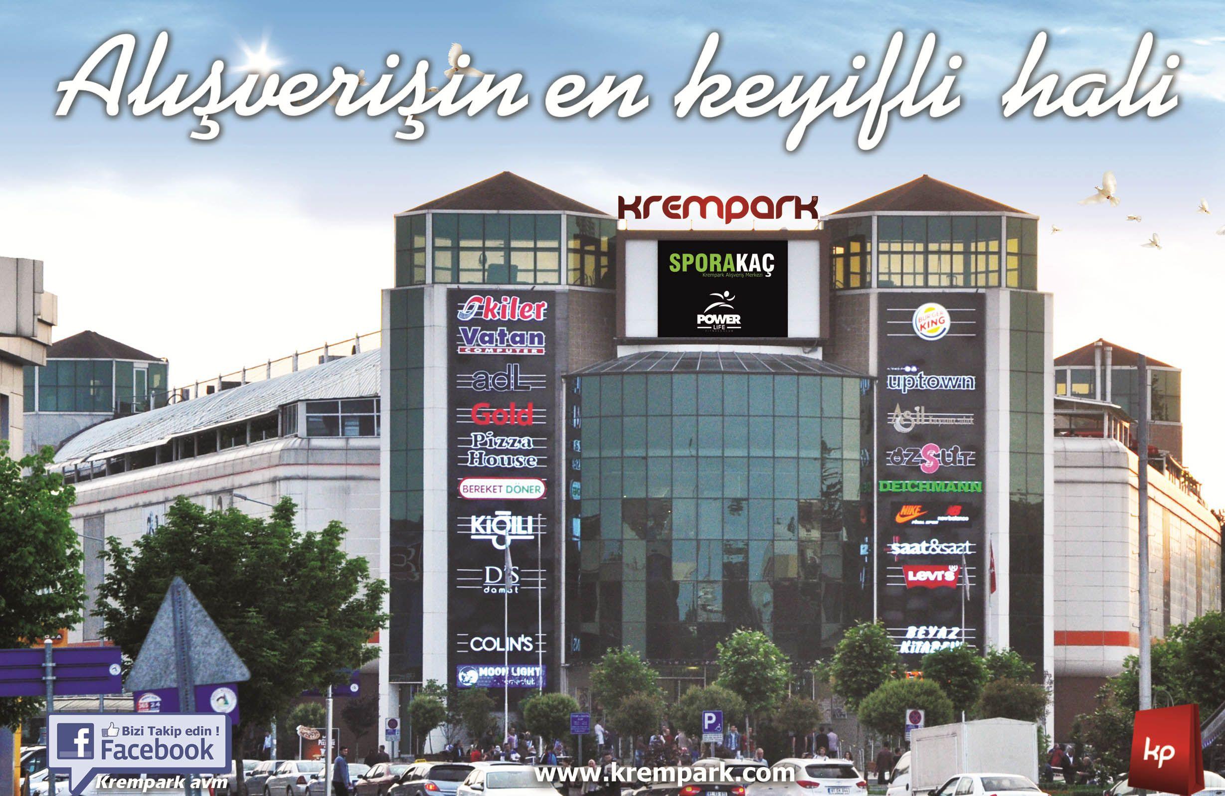 Biletini Erken Al KremPark AVM'den Atkını Kap