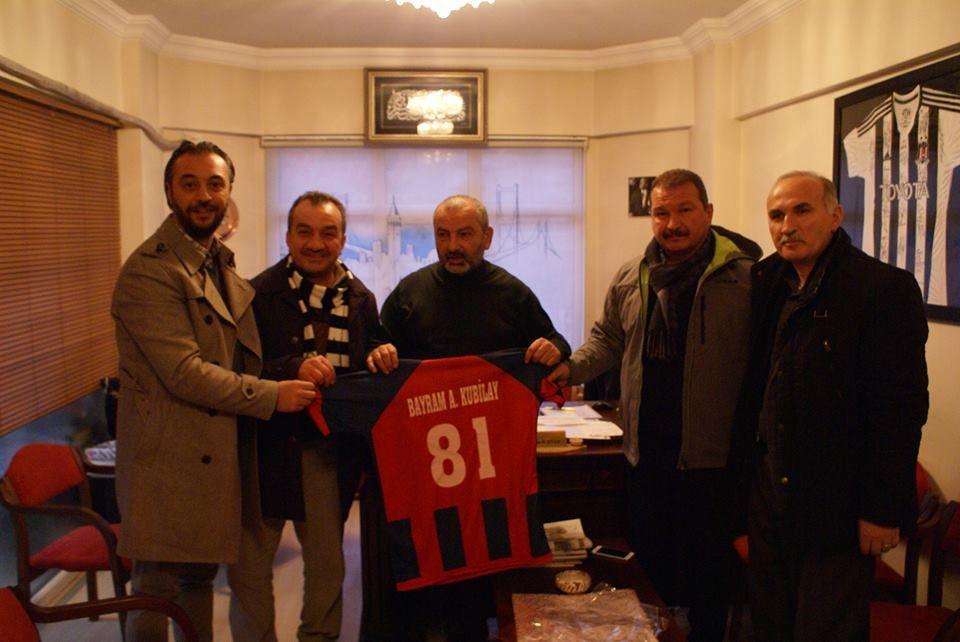 Kulübümüzden Eski Başkan Kubilay'a Teşekkür Ziyareti