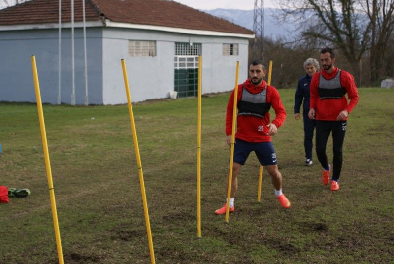 Yomraspor  Maçı Hazırlıklarına Başlandı