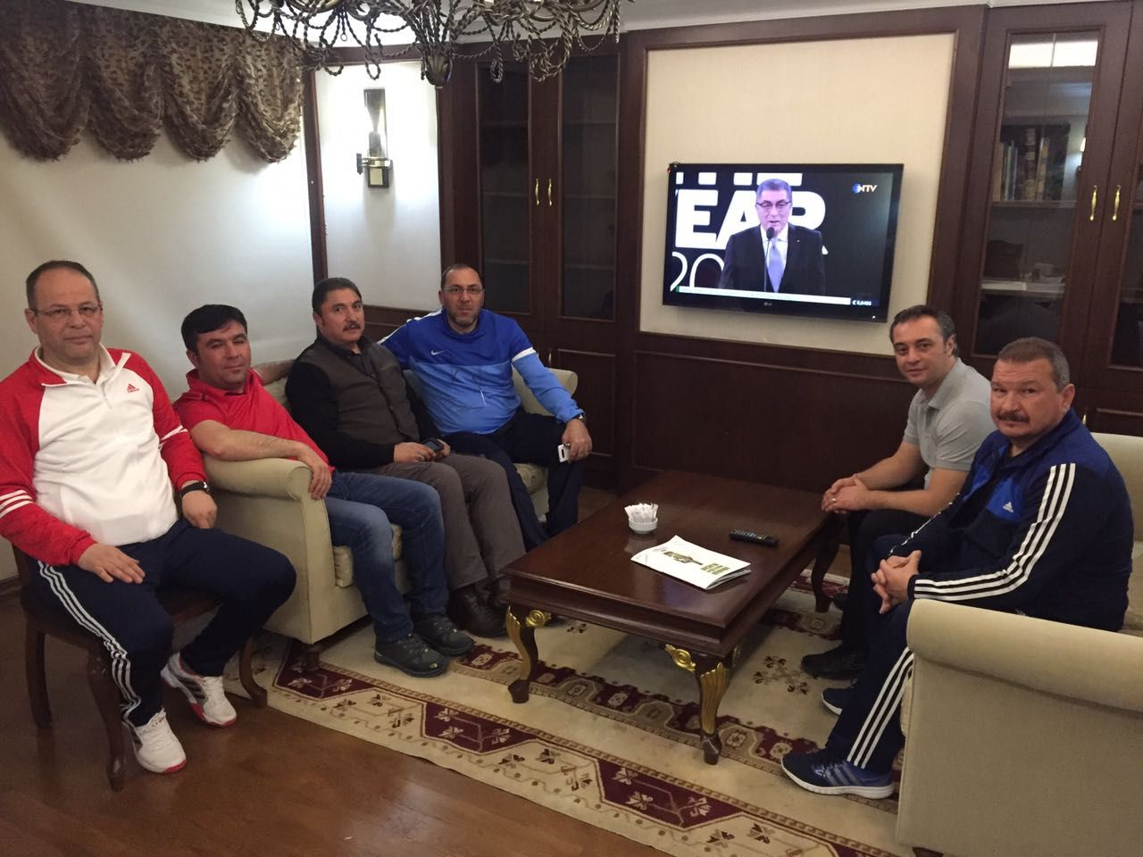 Semih Kıbrıs Takımımızı Ziyaret Etti