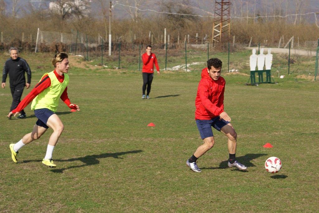 Erbaaspor Maçı Hazırlıklarına Başlandı
