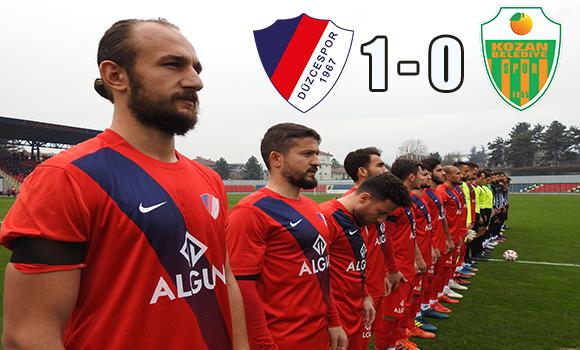 Düzcespor'umuz 1-0 Kozan Bld.