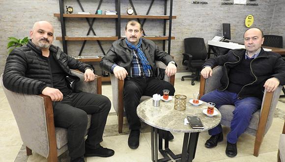 Adnan Zengin Futbol Takımımızı Trabzon'da Ziyaret Etti