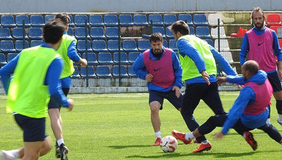 Kemerspor 2003 Maçı Hazırlıklarına Devam Edildi