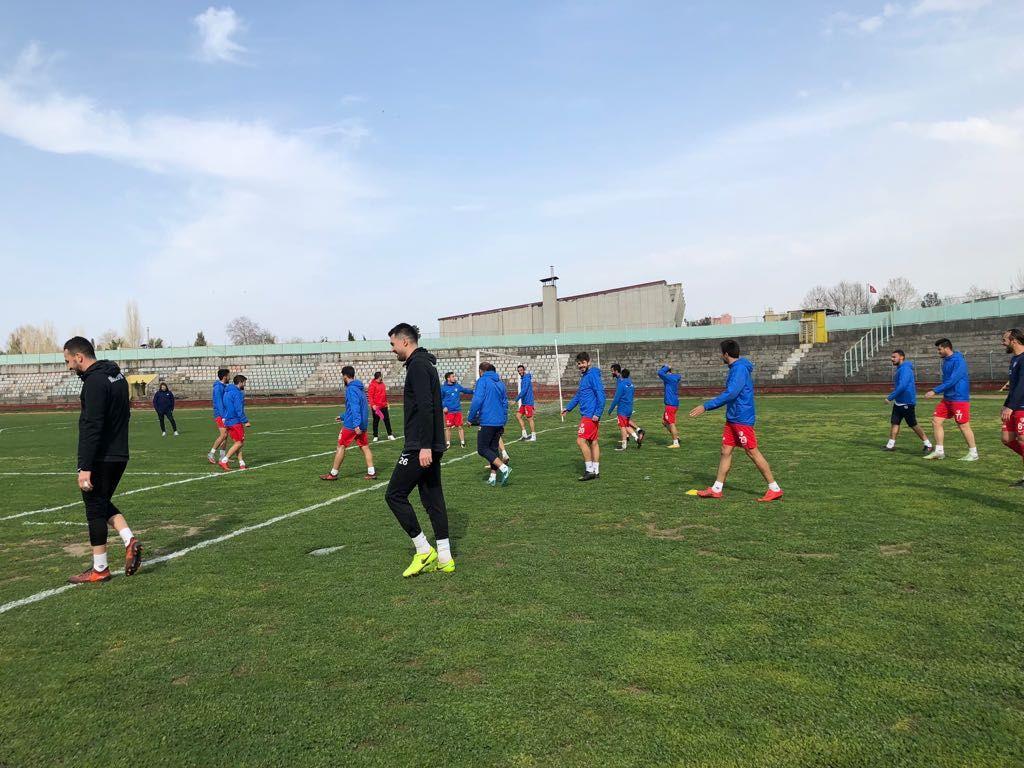 Orhangazi Bld Maçının Son Çalışması Yapıldı
