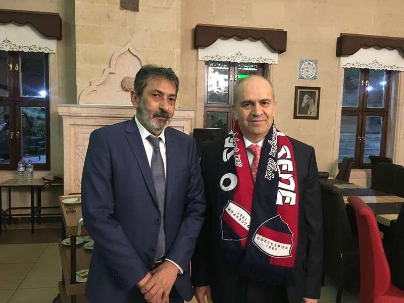 Başkanımız Düzcespor'u Nevşehir'de de Tanıtıyor