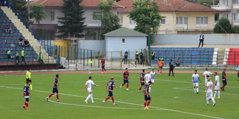 Düzcespor 3 - 1 Bergama Belediyespor