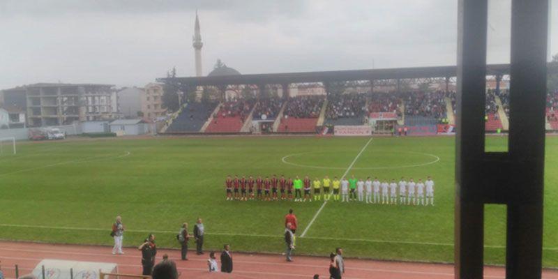 Düzcespor 0 - 0 Çatalcaspor