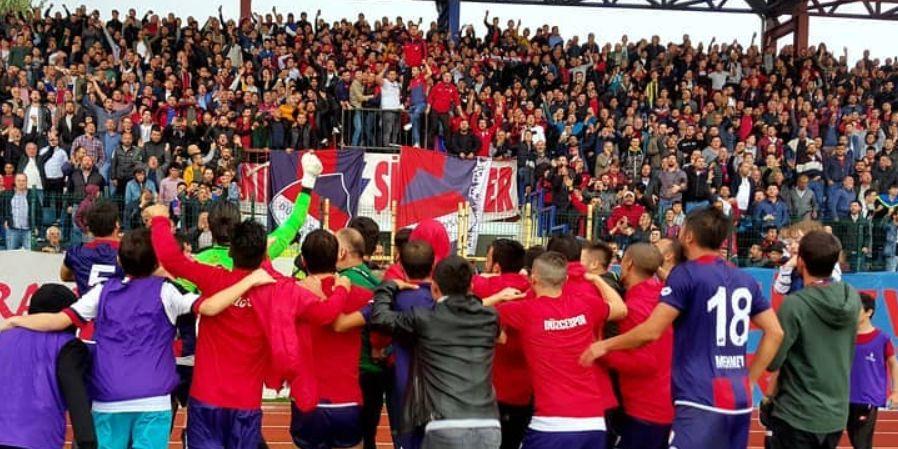 Düzcespor 1 - 0 Yeni Orduspor