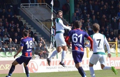 Kırşehirspor 1 - 0 Düzcespor