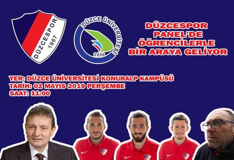 Takımımız Düzce Üniversitesi'nde Panele Katılacak