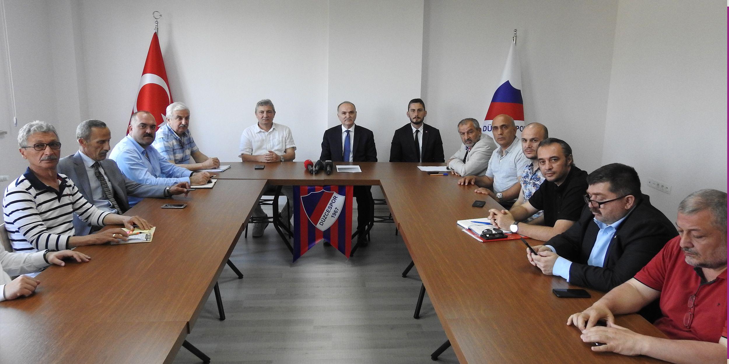 """""""Düzcespor'a Sahip Çık"""" Kampanyası Başladı"""