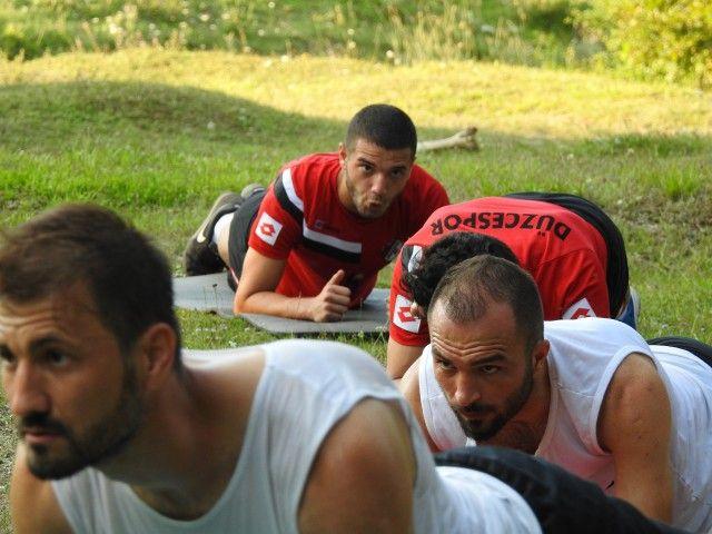 Takımımız, Akşam Antrenmanında Kros Yaptı