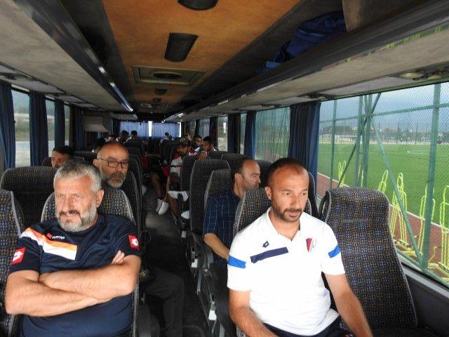 Takımımız Ankara'ya Doğru Yola Çıktı