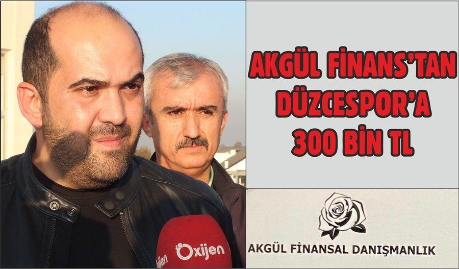 300 BİN TL'lik Sponsorluk Anlaşması