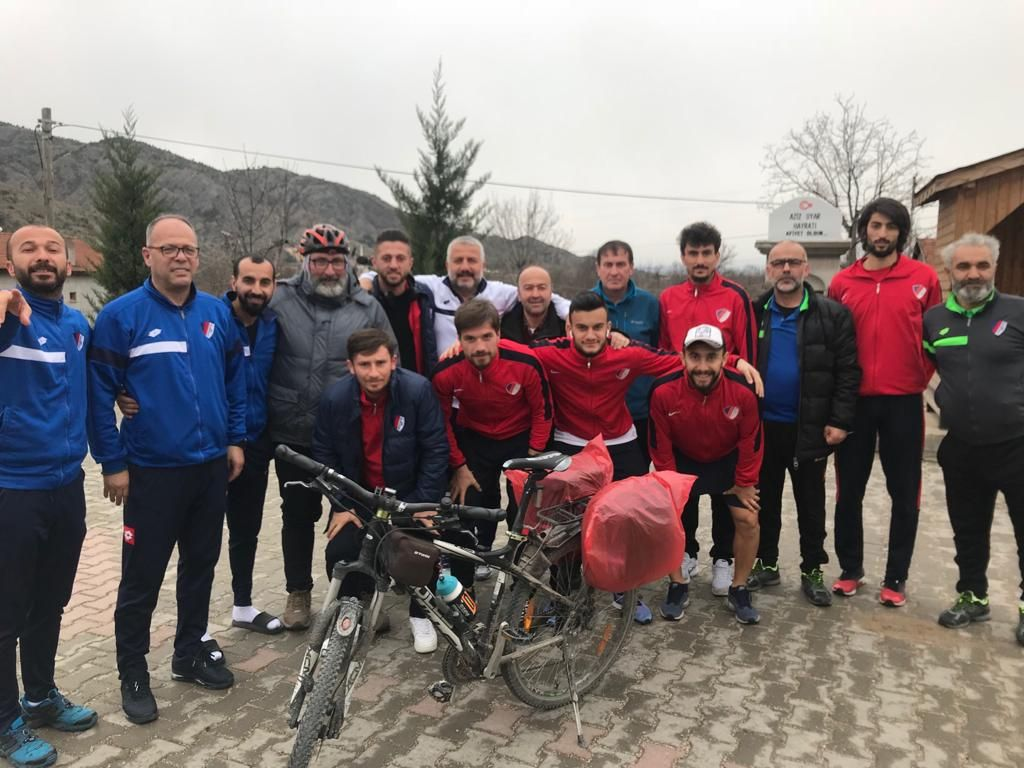 Selim Cicu, Ilgaz'da takımımızla karşılaştı