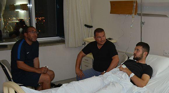 Genç Futbolcumuz Ameliyat Oldu