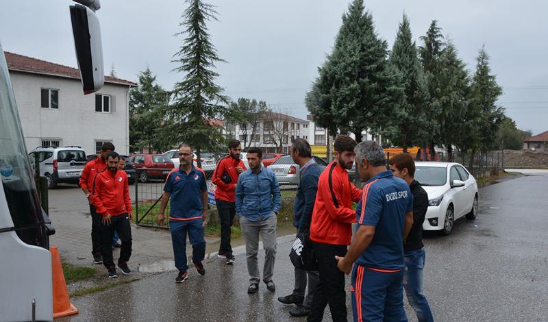 Takımımız Gaziantep'e Doğru Yola Çıktı