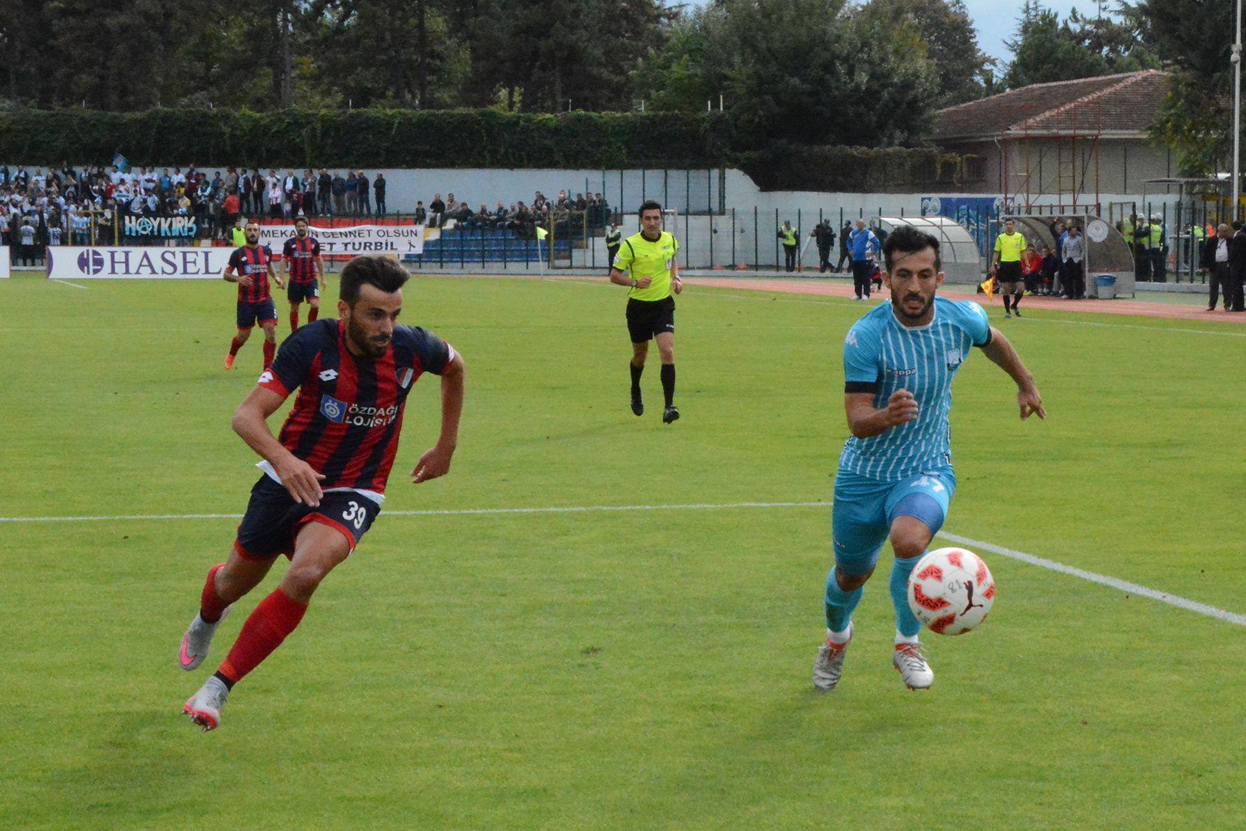 6. Hafta Düzcespor 1 -0 Dersimspor