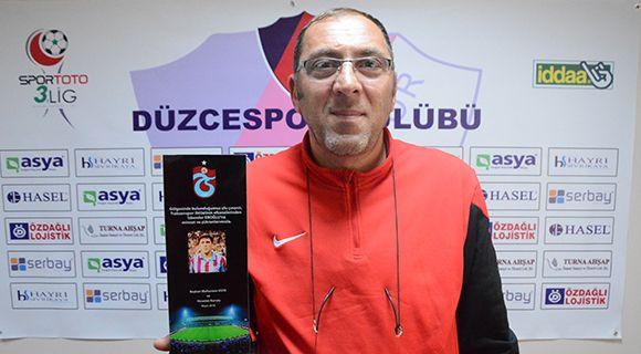Trabzonspor Kulübü Teknik Direktörümüzü Unutmadı