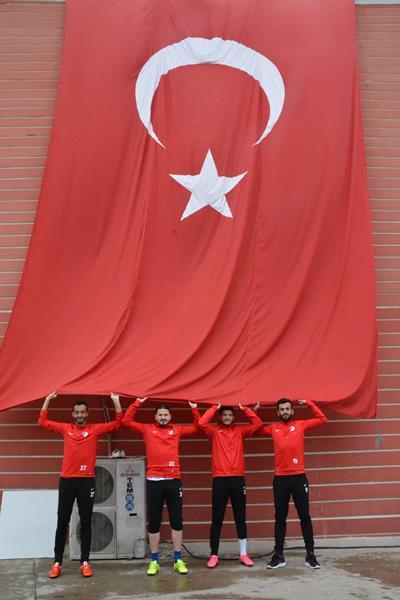 Takımımız 29 Ekim'i Kutladı