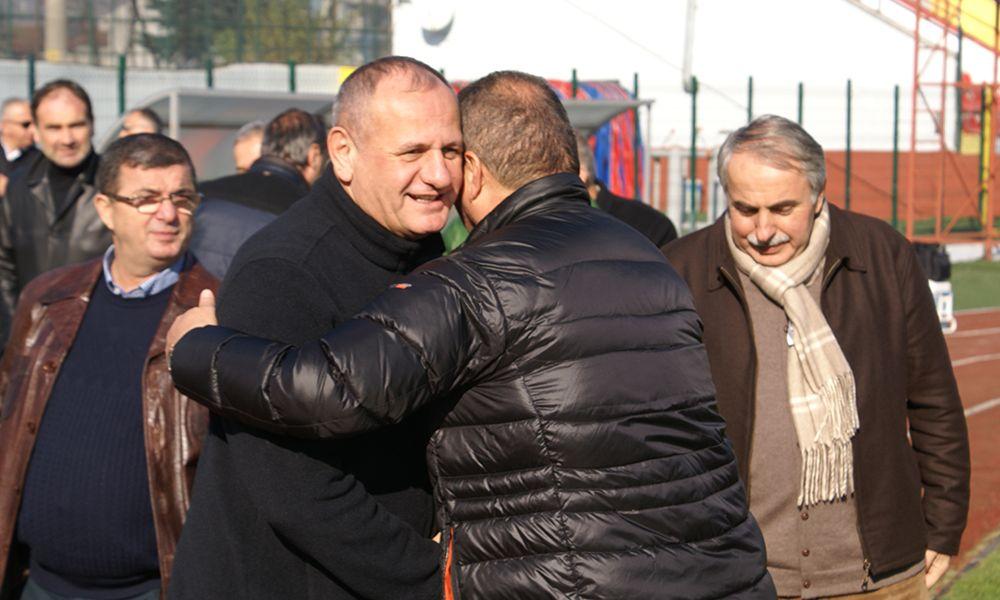 Fahri Başkanımız Mehmet KELEŞ Takımımızın Son İdmanını Ziyaret Etti