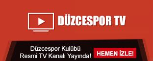 Düzcespor Kulübü Resmi TV Kanalı Yayında!