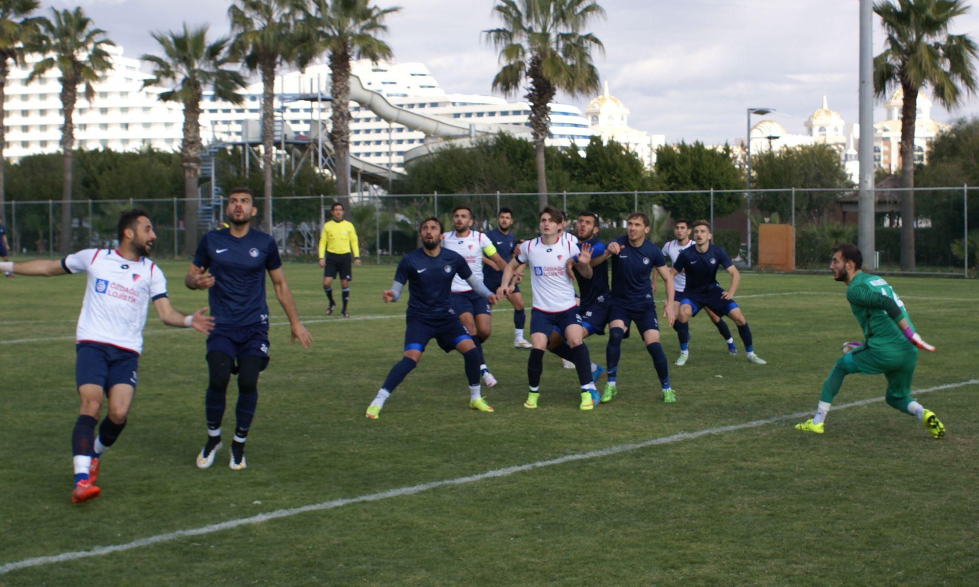 Takımımız İlk Hazırlık Maçında Altındağ Belediyespor İle Karşılaştı
