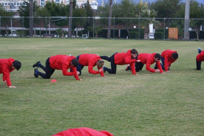 Kampın Yedinci Gününde Sabah Antrenmanı Yapıldı