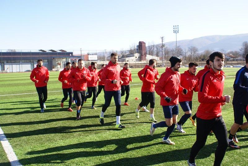 Silivrispor Maçı Hazırlıklarına Devam Edildi.