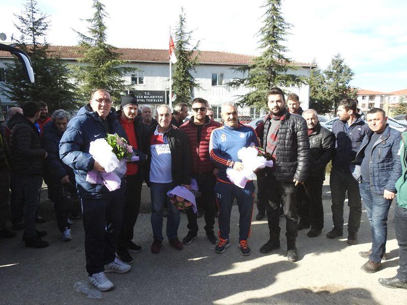 Takımımız İstanbul'a Doğru Yola Çıktı