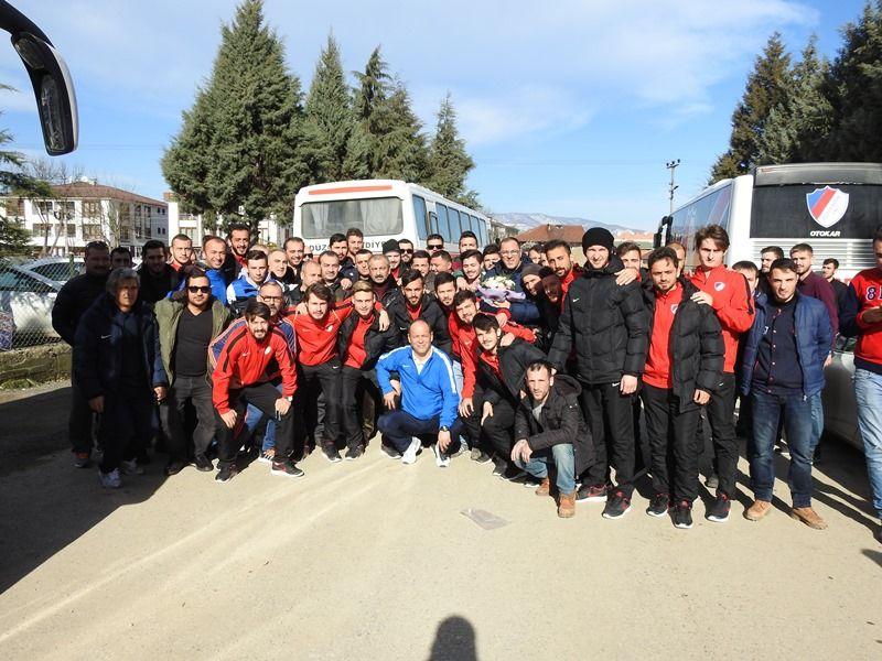 Takımımız Silivri'ye Doğru Yola Çıktı