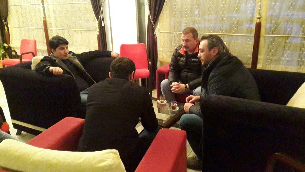 Kulübümüz, Batman Petrolspor'u Ziyaret Etti